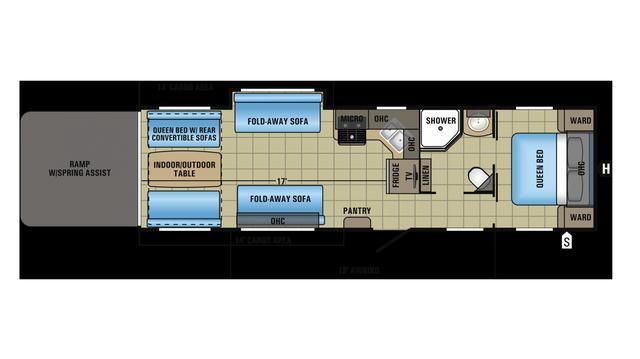 2018 Octane T32j Floor Plan