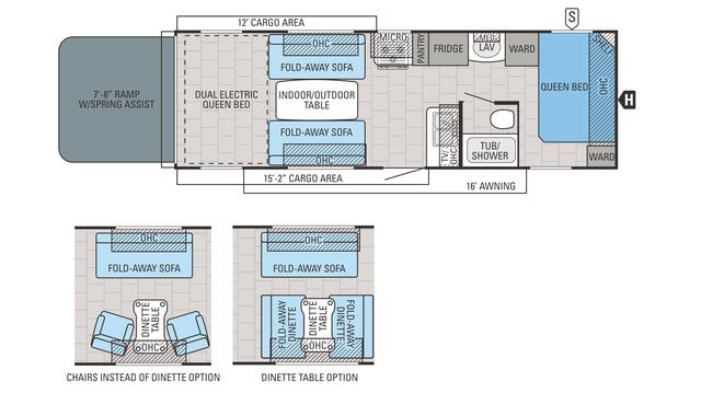 2016 Octane Zx T26y Floor Plan