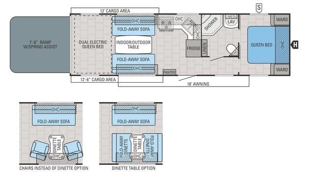 2016 Octane ZX T31B Floor Plan
