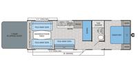 2016 Octane ZX Super Lite 272 Floor Plan