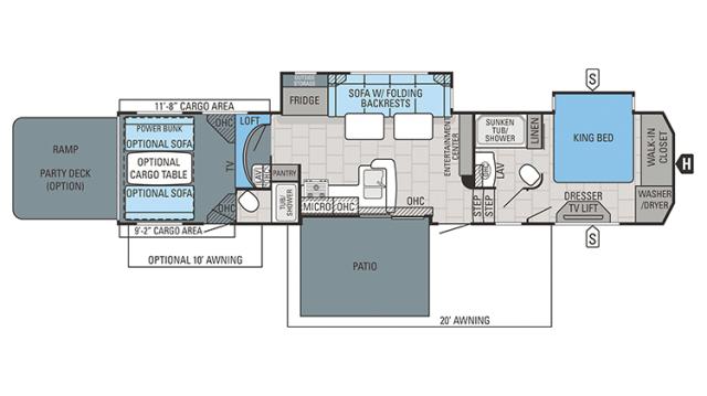 2018 Seismic 4212 Floor Plan