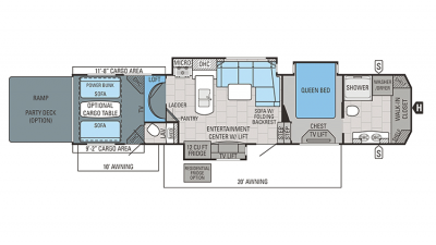 2018 Seismic 4250 Floor Plan