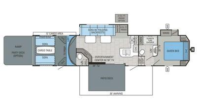 2016 Seismic Wave 400w Floor Plan