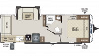 2019 Bullet 257RSS Floor Plan