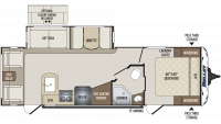 2019 Bullet 269RLS Floor Plan