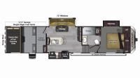 2019 Carbon 347 Floor Plan