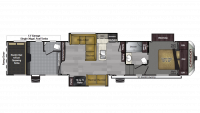 2018 Carbon 403 Floor Plan