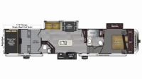 2019 Carbon 417 Floor Plan