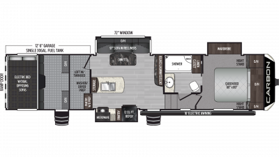 2019 Carbon 347 Floor Plan Img