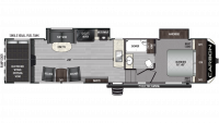 2019 Carbon 349 Floor Plan