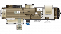 Cougar 368MBI Floor Plan