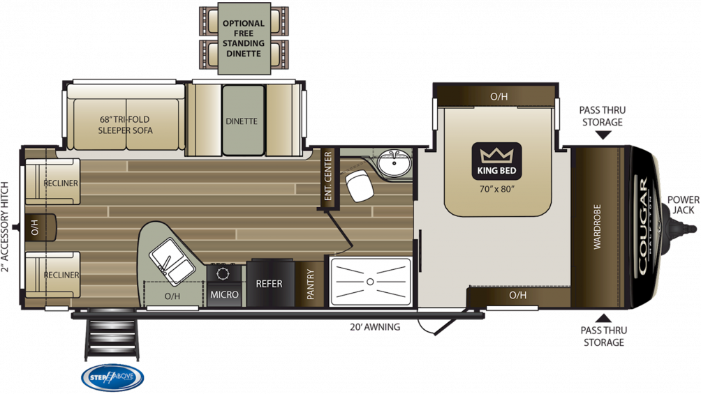 2017 Keystone Cougar Travel Trailer Floor Plans Home Plan