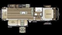 2019 Cougar Half Ton 30RLS Floor Plan