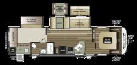 2018 Cougar Half Ton 32RDB Floor Plan