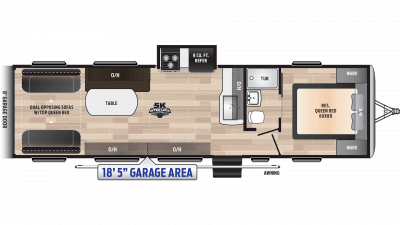 2019 Impact 3118 Floor Plan Img