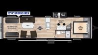 2019 Impact 3216 Floor Plan