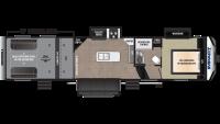2019 Impact 343 Floor Plan