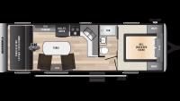 2019 Impact Vapor Lite 26V Floor Plan