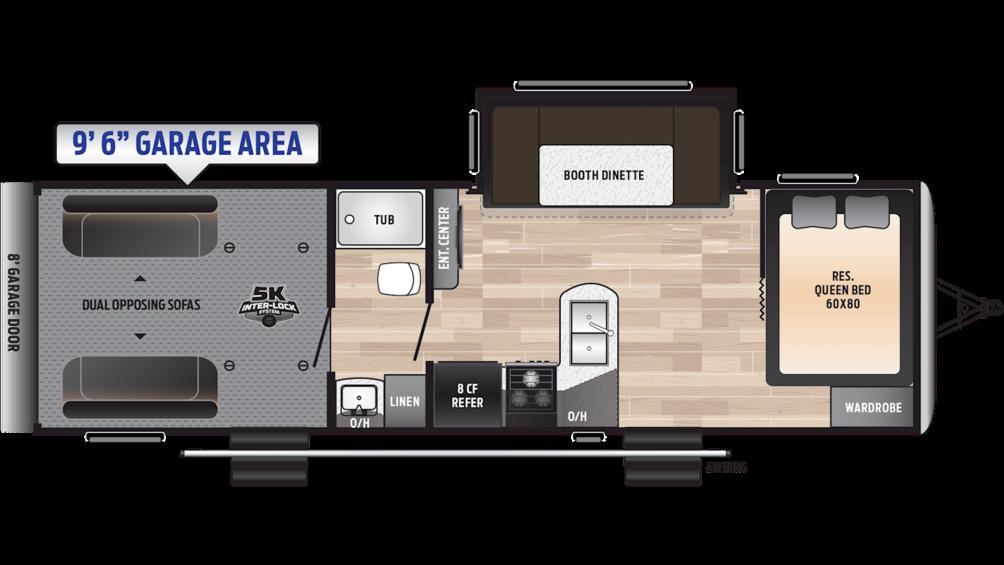 2019 Impact Vapor Lite 28V Floor Plan Img