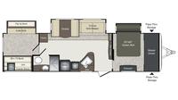 2016 Laredo 333BH Floor Plan