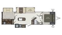 2018 Laredo 331BH Floor Plan