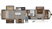 2019 Montana 3560RL Floor Plan