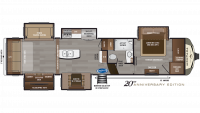 2019 Montana 3561RL Floor Plan