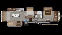 2019 Montana 3855BR Floor Plan