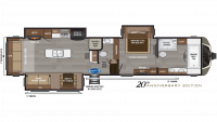 2019 Montana 3920FB Floor Plan