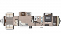 2019 Montana High Country 372RD Floor Plan