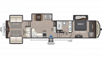 2019 Montana High Country 373RD Floor Plan