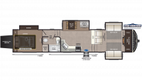 2019 Montana High Country 381TH Floor Plan
