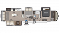 2019 Montana High Country 384BR Floor Plan