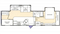 2003 Montana Mountaineer 318BHS Floor Plan