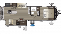 2019 Outback 300ML Floor Plan