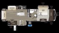 2019 Outback 330RL Floor Plan