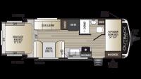 2019 Outback Ultra Lite 210URS Floor Plan