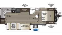 2019 Outback Ultra Lite 260UML Floor Plan