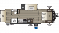 2019 Outback Ultra Lite 261UBH Floor Plan