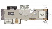 2018 Passport Elite 33MB Floor Plan
