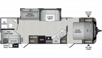 2019 Passport GT Series 2820BH Floor Plan