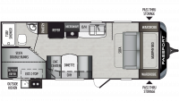 2019 Passport SL Series 239ML Floor Plan