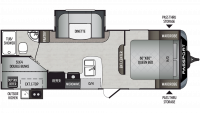 2019 Passport SL Series 240BH Floor Plan