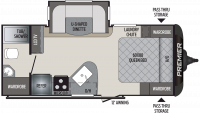 2019 Premier 19FBPR Floor Plan