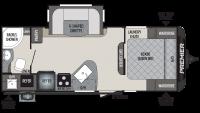 2019 Premier 22RBPR Floor Plan
