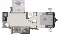 2019 Premier 24RKPR Floor Plan