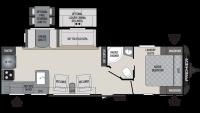 2019 Premier 29RKPR Floor Plan