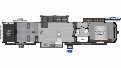 2019 Raptor 424TS Floor Plan Img