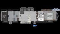 2019 Raptor 424TS Floor Plan