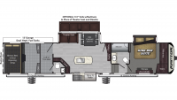2019 Raptor 426TS Floor Plan